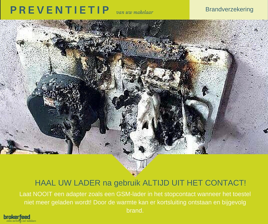 Brandpreventietip - Brokerfeed